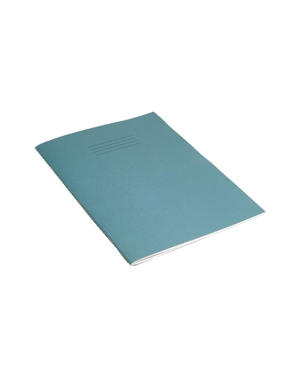 Exercise Book A4 (297 x 210mm) Light Blue Cover 8mm Ruled & Margin 80 Pages
