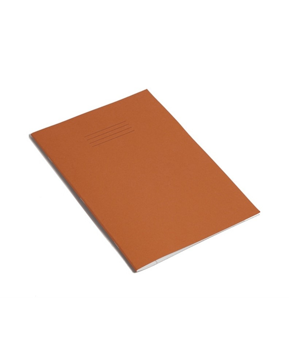 Exercise Book A4 (297 x 210mm) Orange Cover 6mm Ruled & Margin 80 Pages