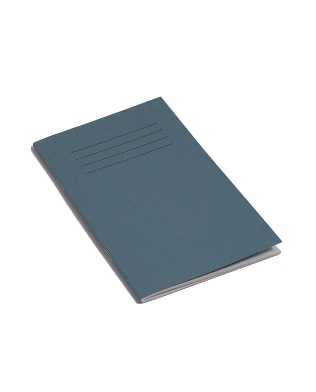 Exercise Book 6.5 x 4 (165 x 102mm) Light Blue Cover 7mm Ruled & Centre Margin 48 Pages