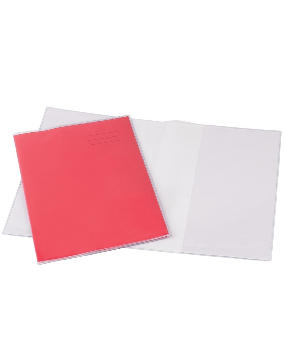 9 X 7 Clear Exercise Book Covers
