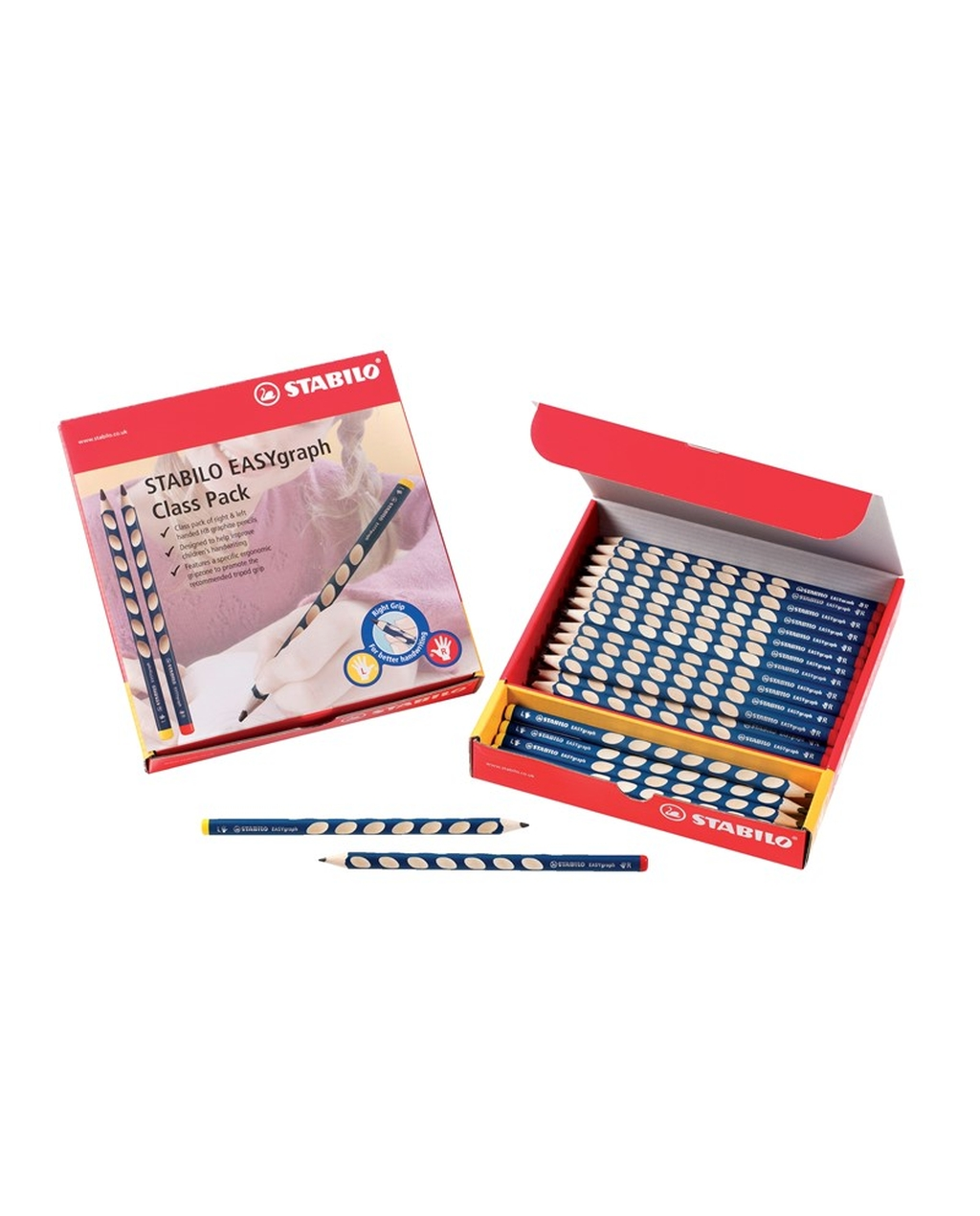 Easygraph Graphite Pencils Class Pack