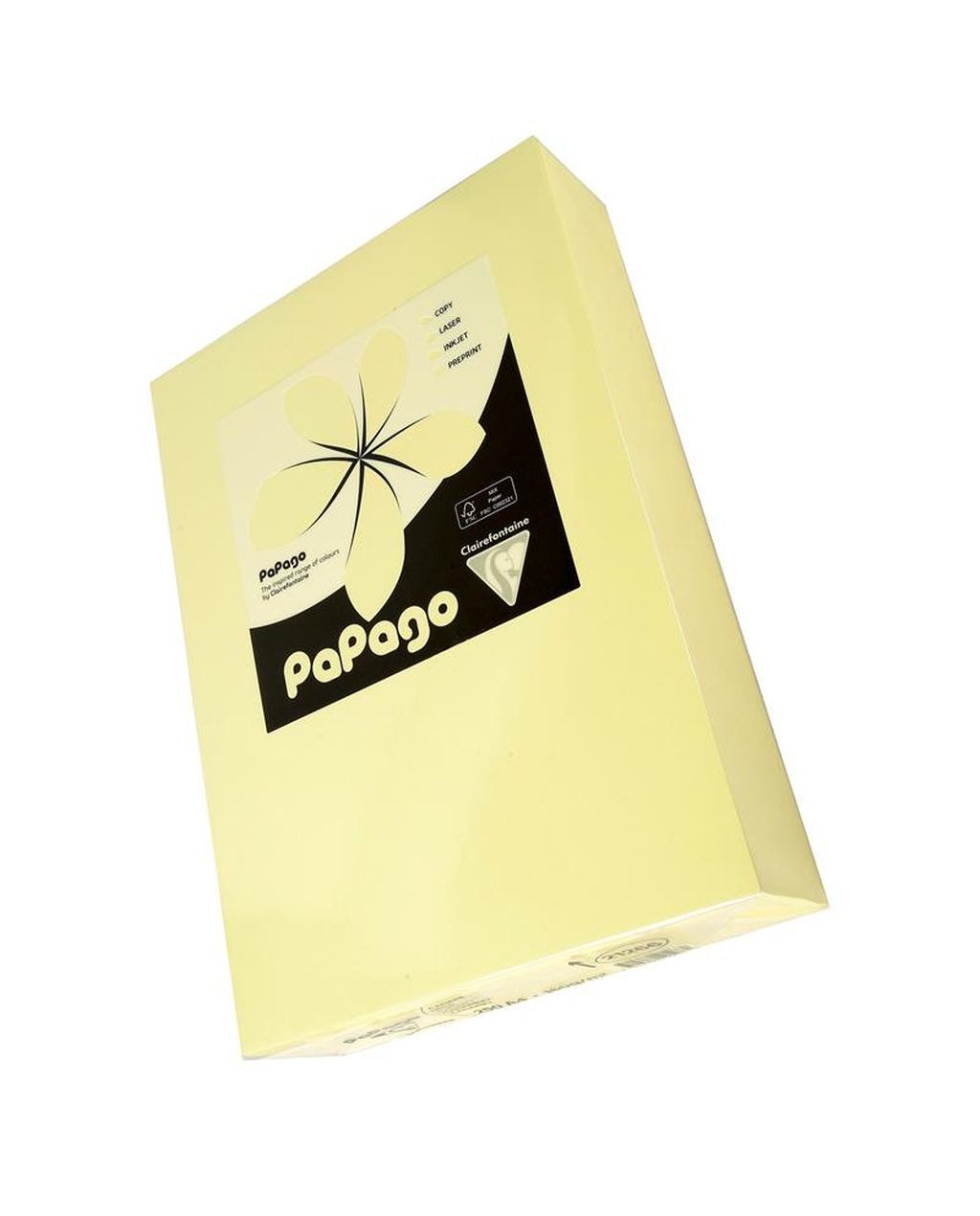 A4 160g Tinted Card - Pale Yellow