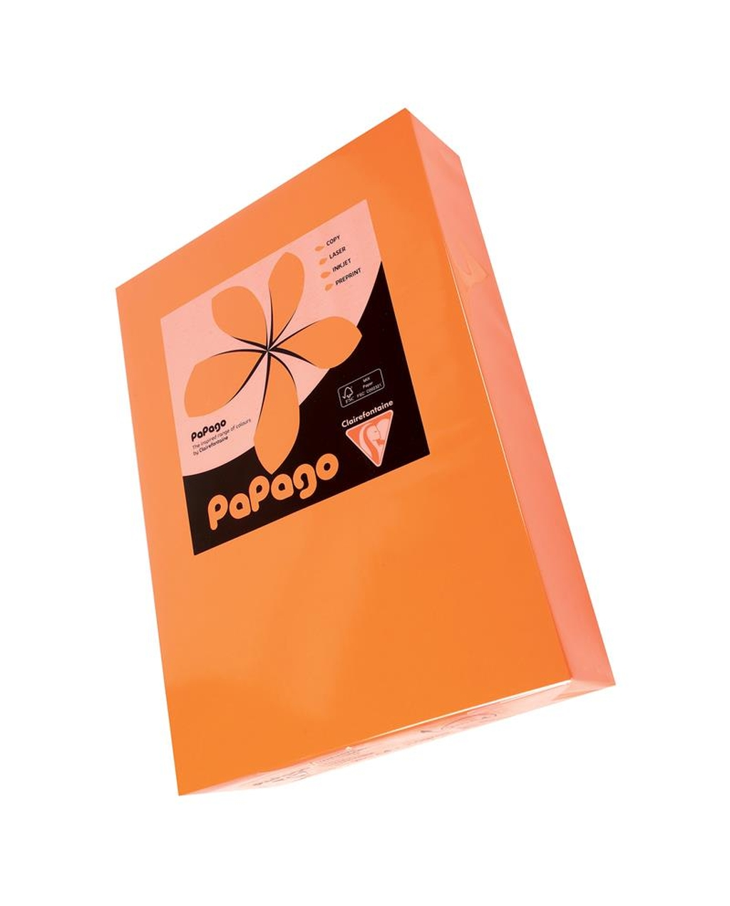 A4 160g Tinted Card - Mid Orange