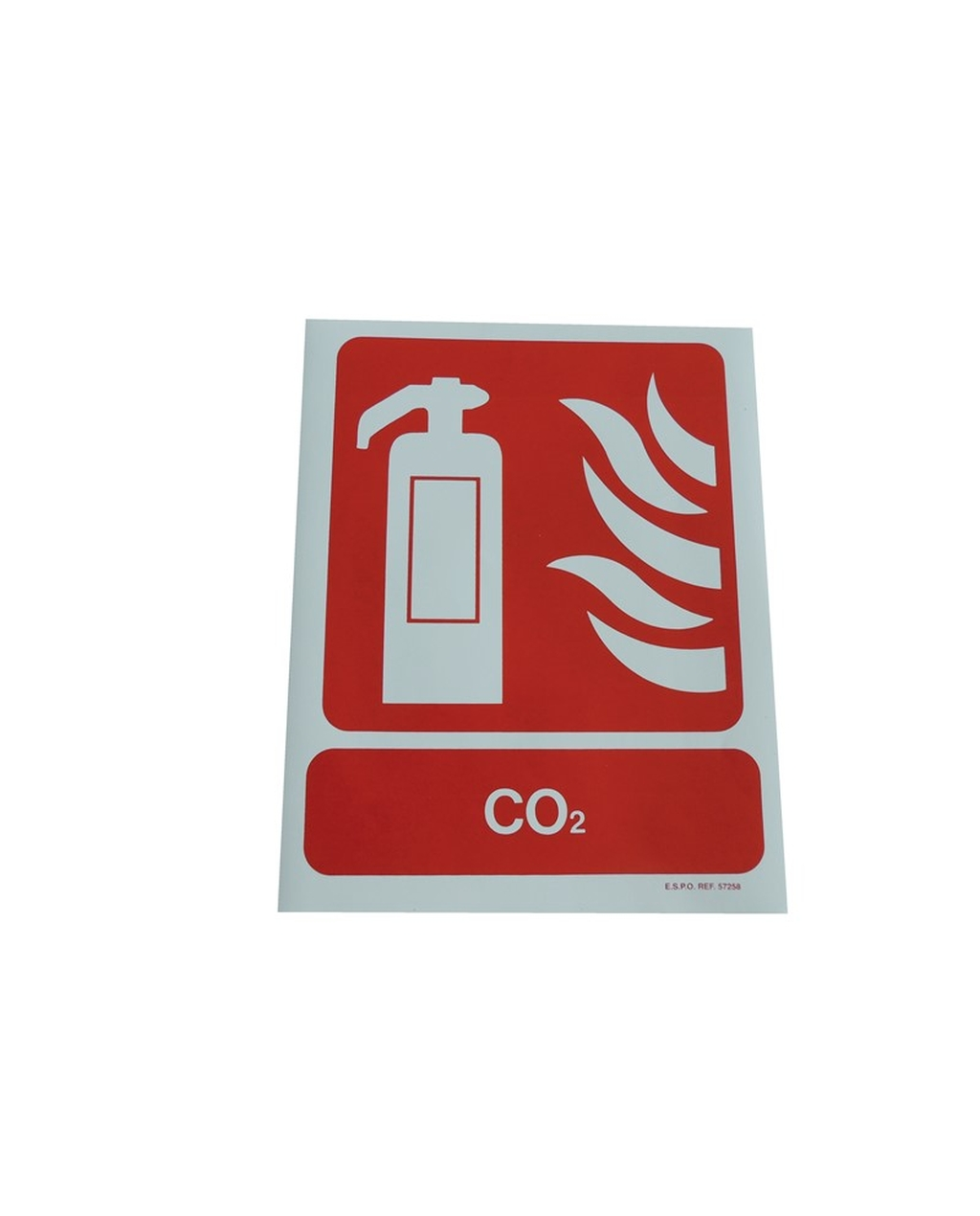 Fire Extinguisher Sign: CO2