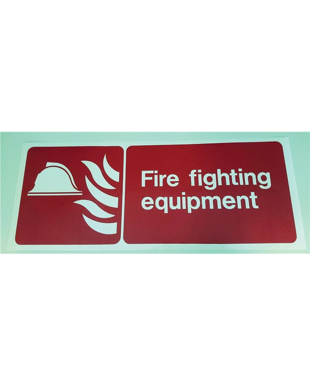 Fire Fighting Equipment Sign