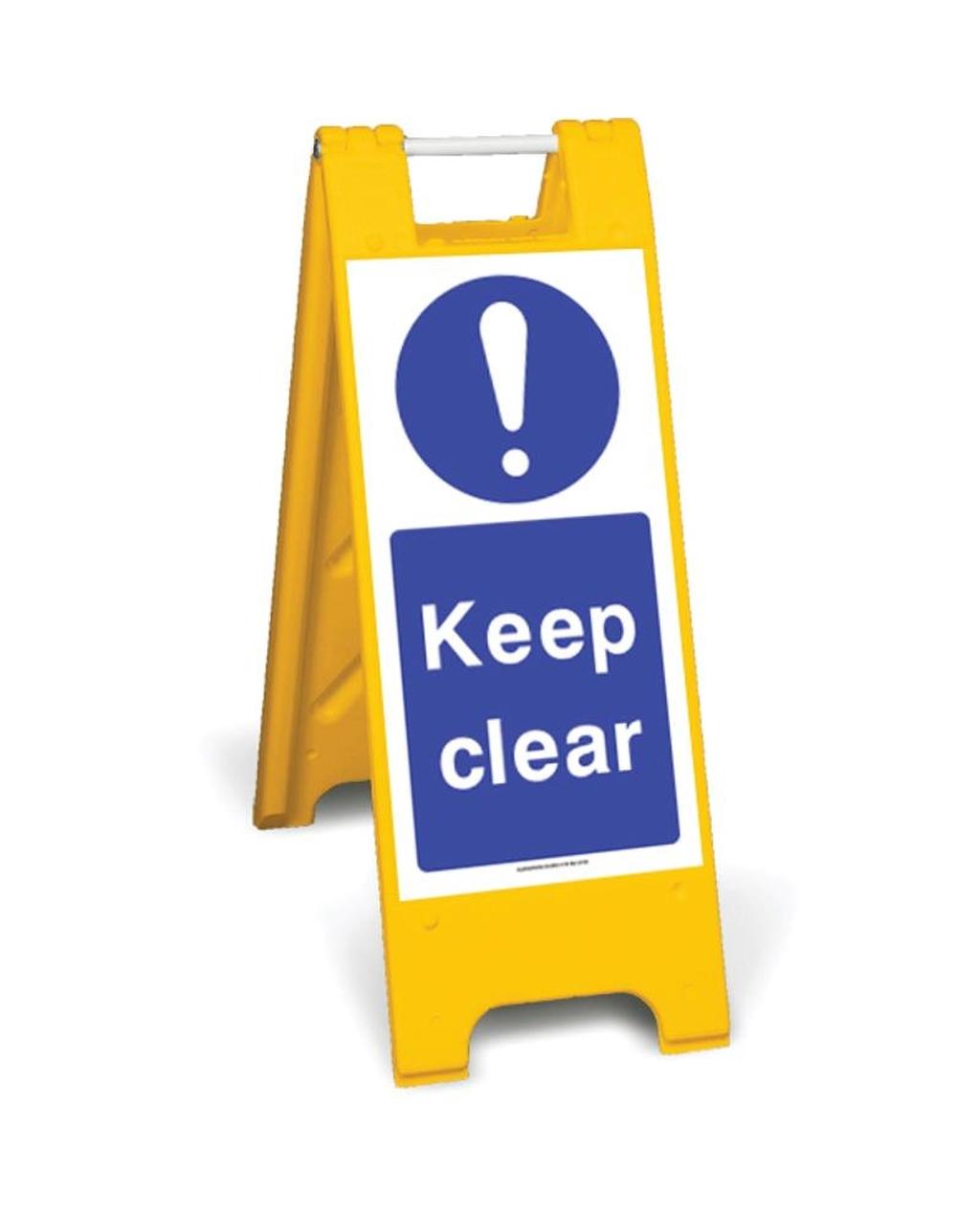Keep clear  ( mcd83)