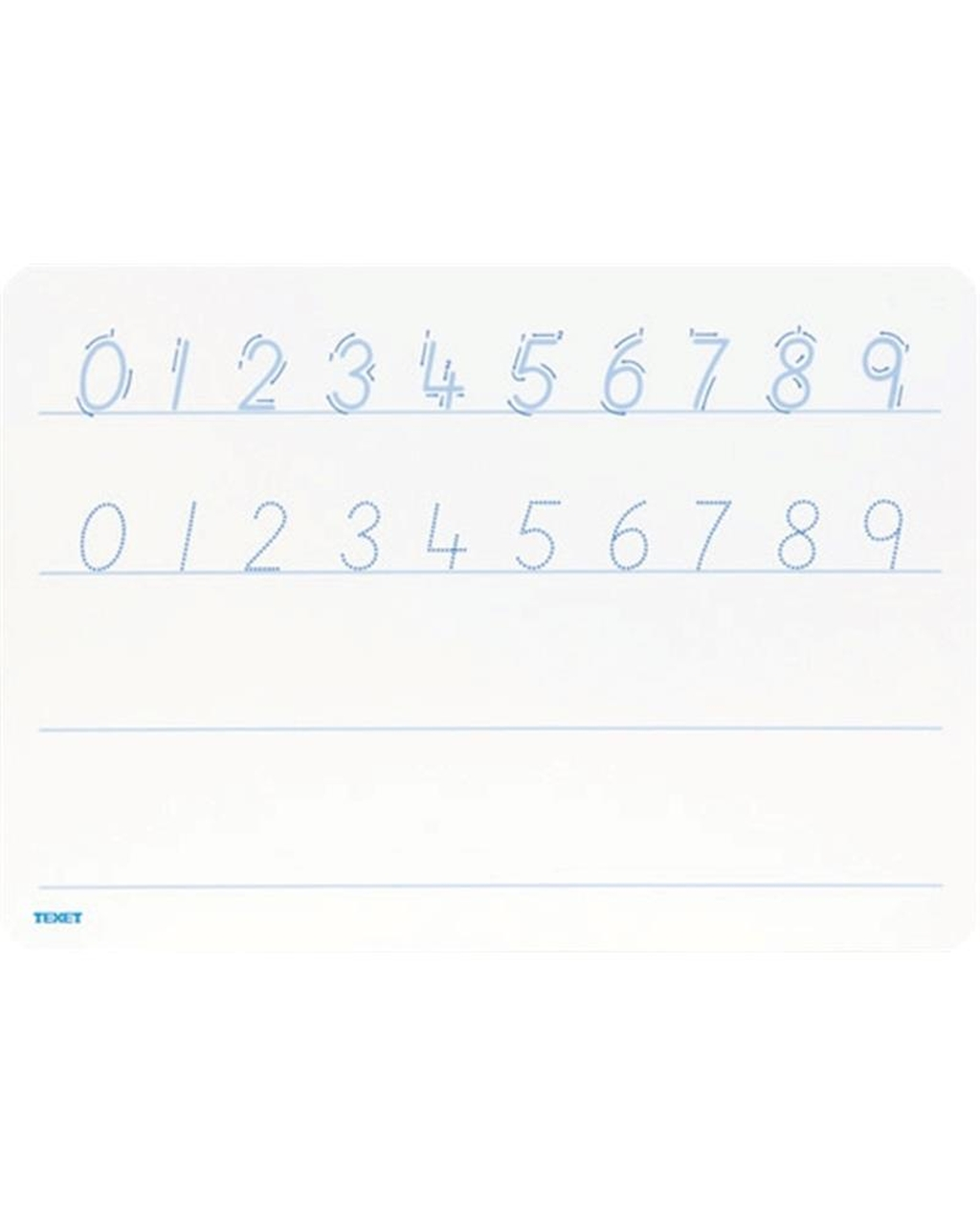 A4 Number Formation Whiteboard