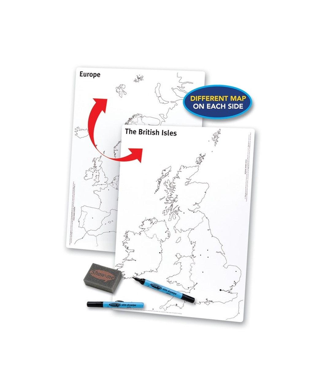 Show-me A3 UK/Europe Whiteboards