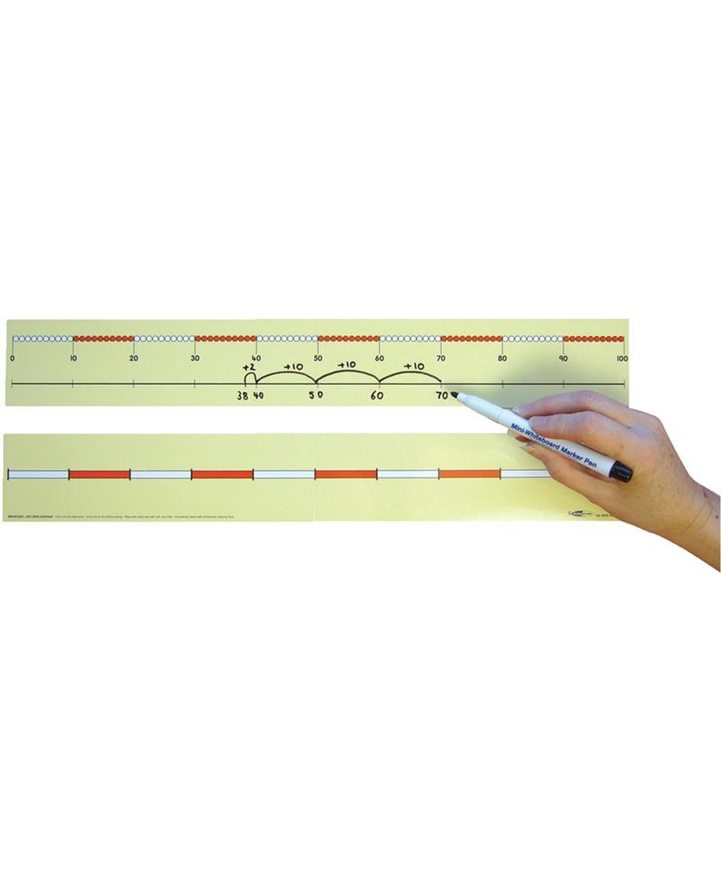 0-100 Child's Bead Number Lines