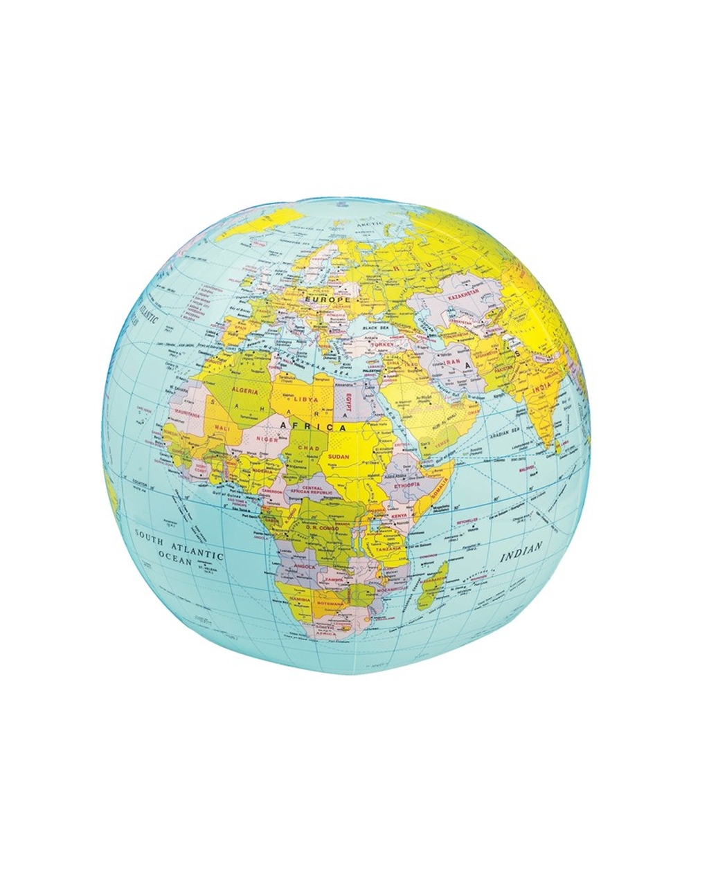 Blow Up Political Globe - 30cm