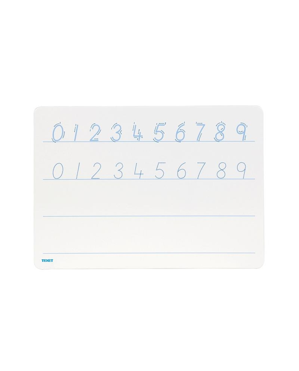 A4 Number Tracing Whiteboards