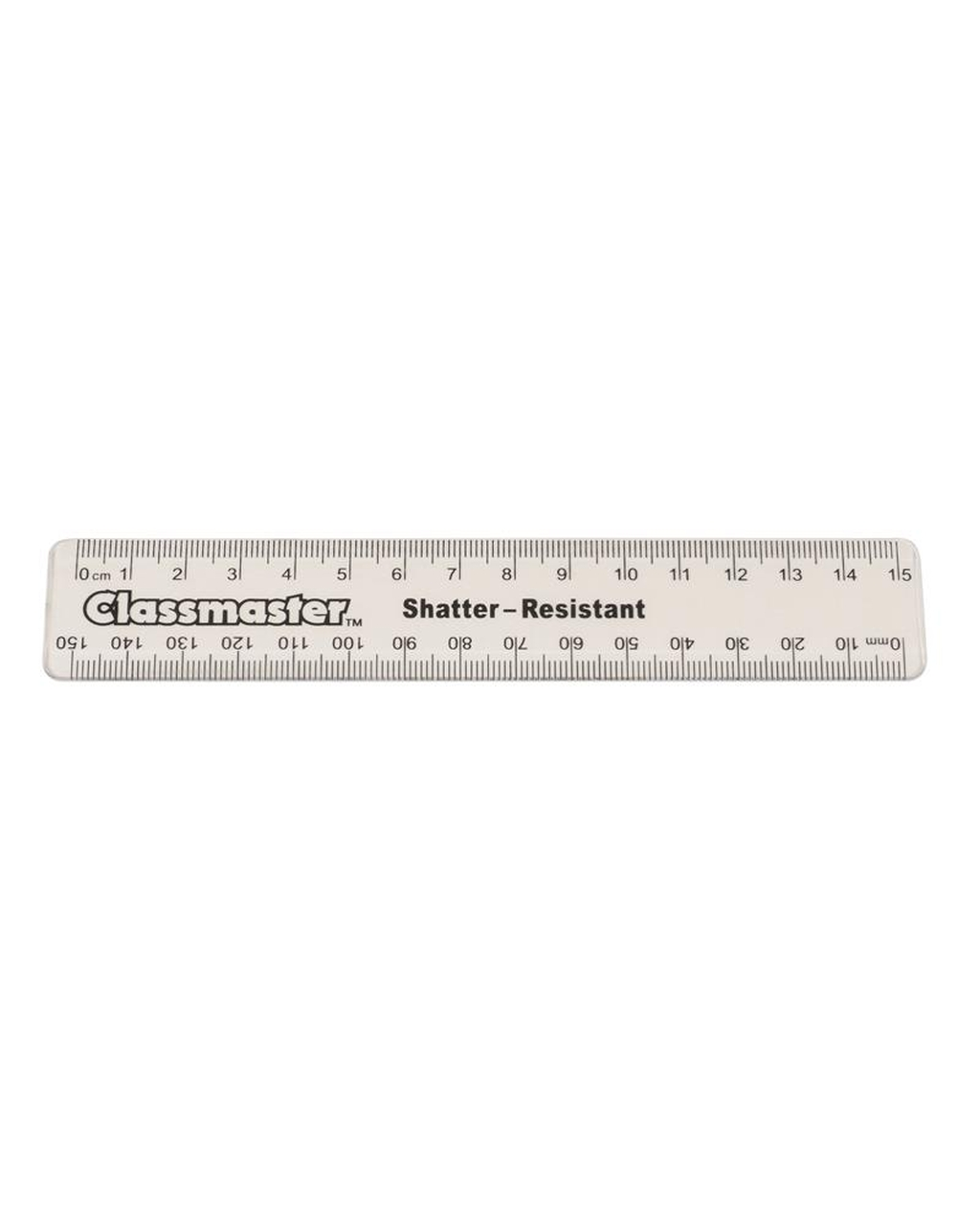 15cm Clear Plastic Ruler