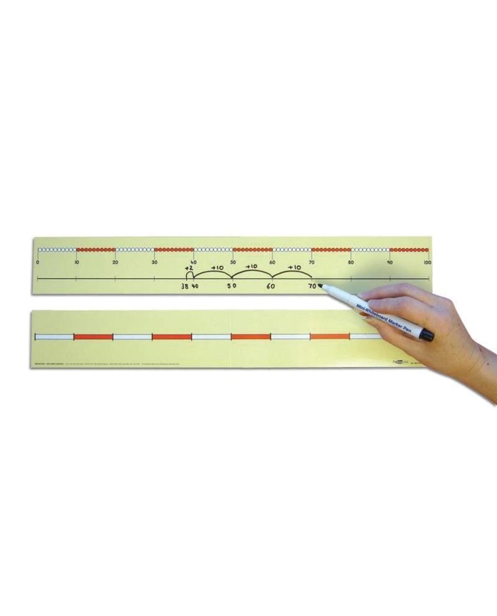 0-100 Beaded Number Line -Child's Medium