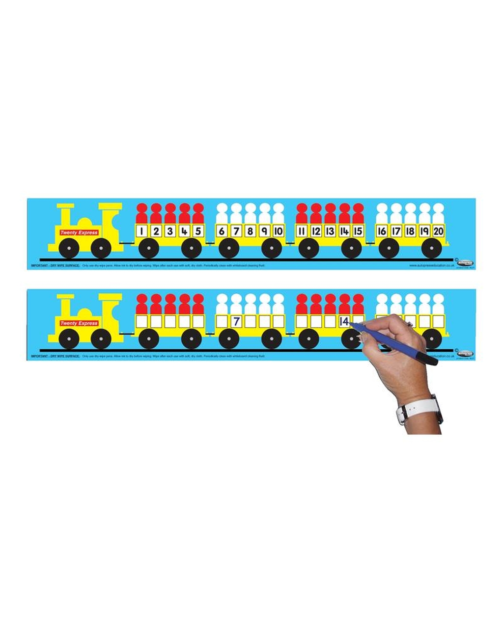 1-20 Number Train - Teachers
