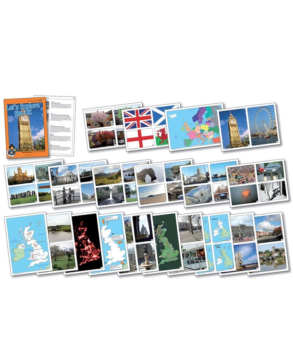 Explore the UK Photopack