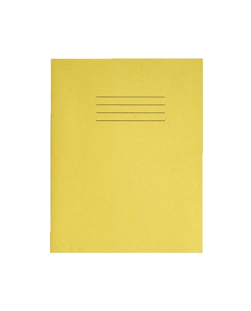 Exercise Book A4+ size (330 x 250mm) Yellow Cover Plain - No Ruling 40 Pages