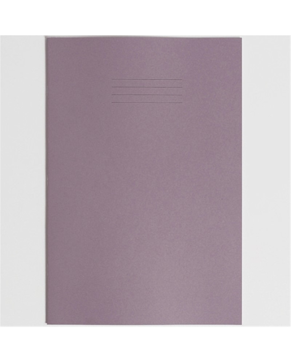 Exercise Book A4+ size (330 x 250mm) Purple Cover Plain - No Ruling 40 Pages