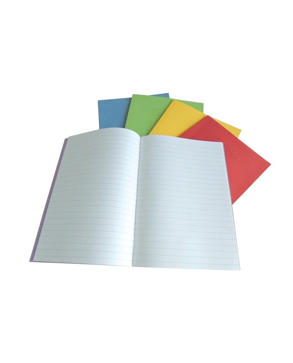 Exercise Book A4+ size (330 x 250mm) Yellow Cover 8mm Ruled 40 Pages