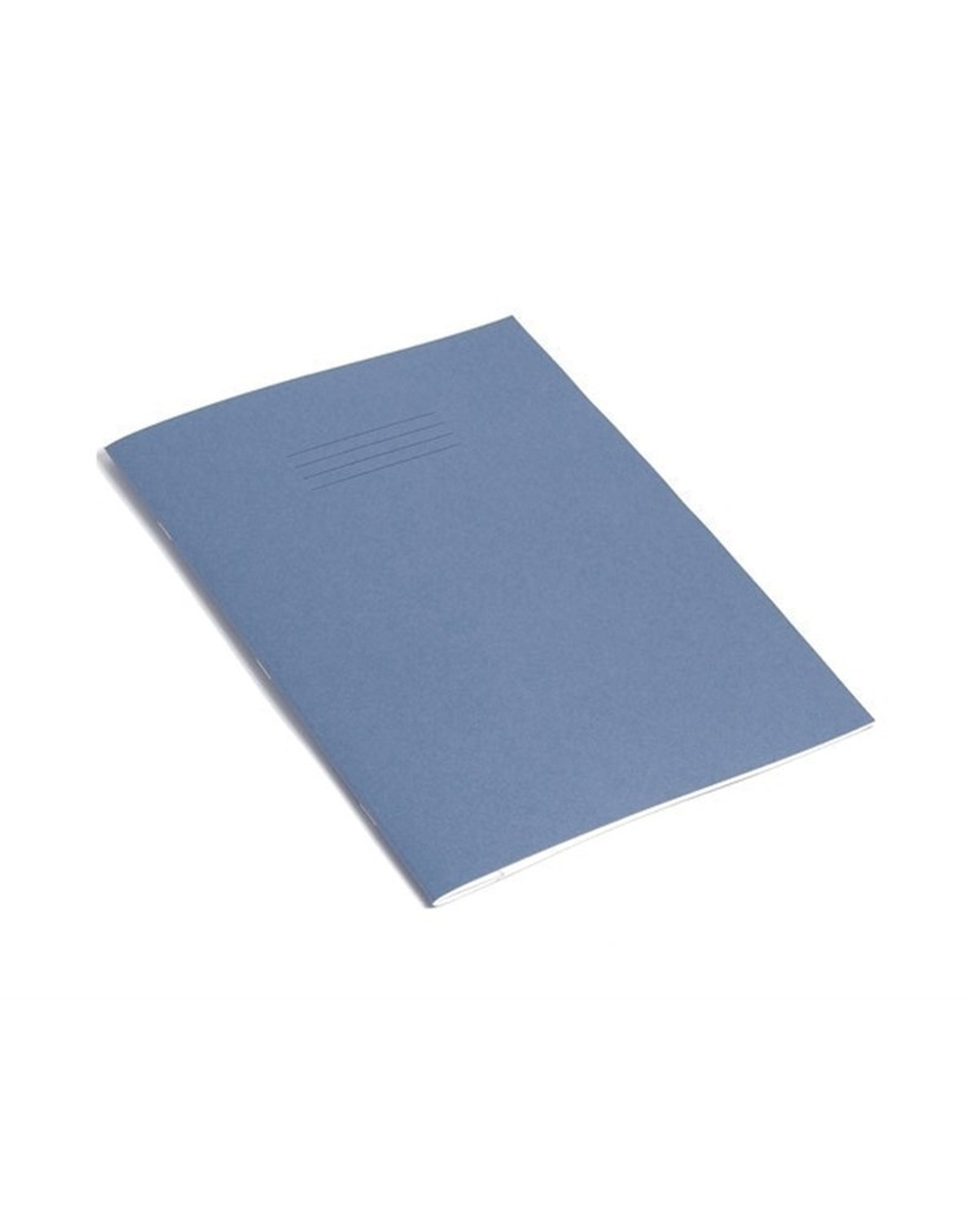Exercise Book A4+ size (330 x 250mm) Light Blue Cover 8mm Ruled 40 Pages