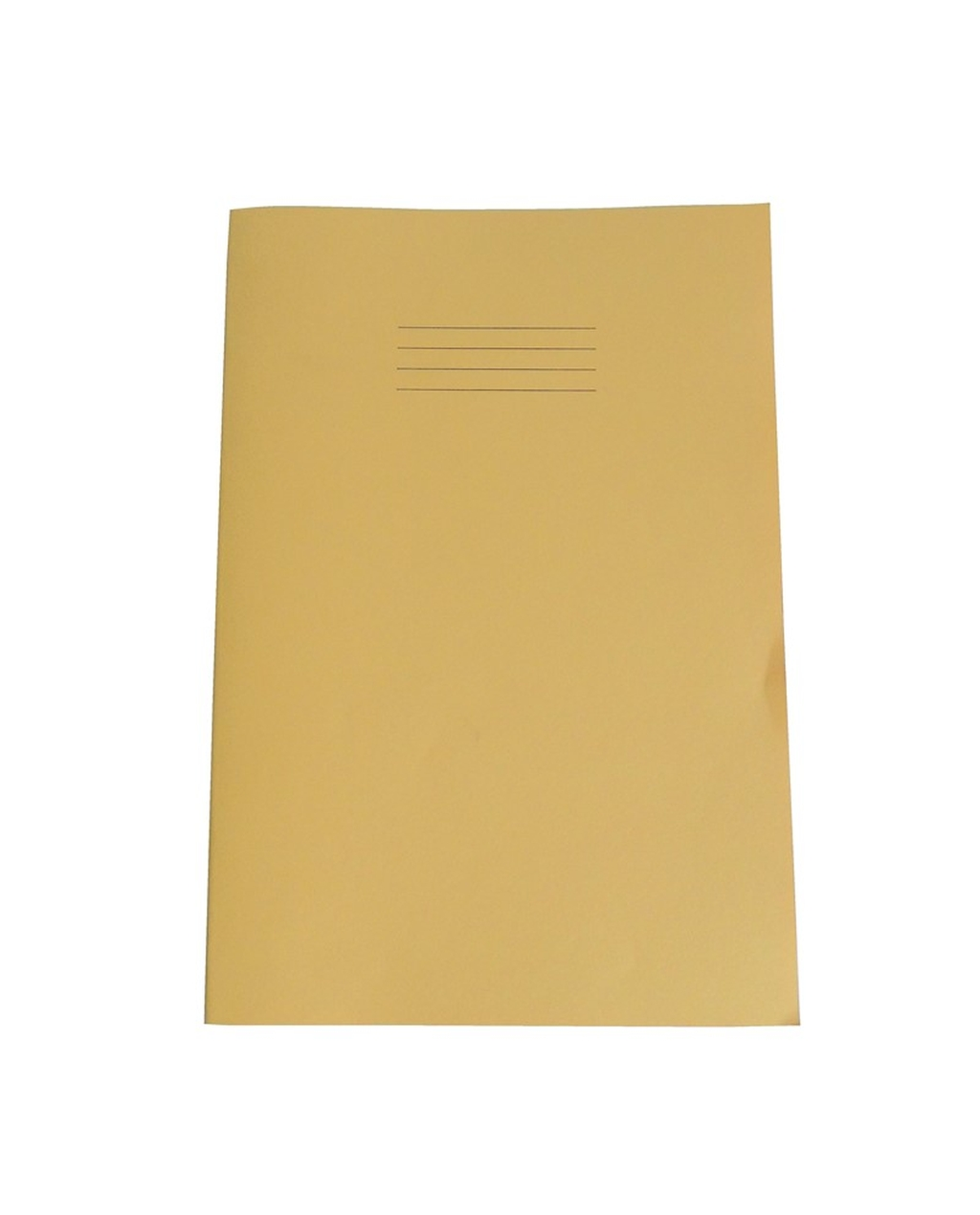 Exercise Book A4+ size (330 x 250mm) Yellow Cover 12mm Ruled 40 Pages