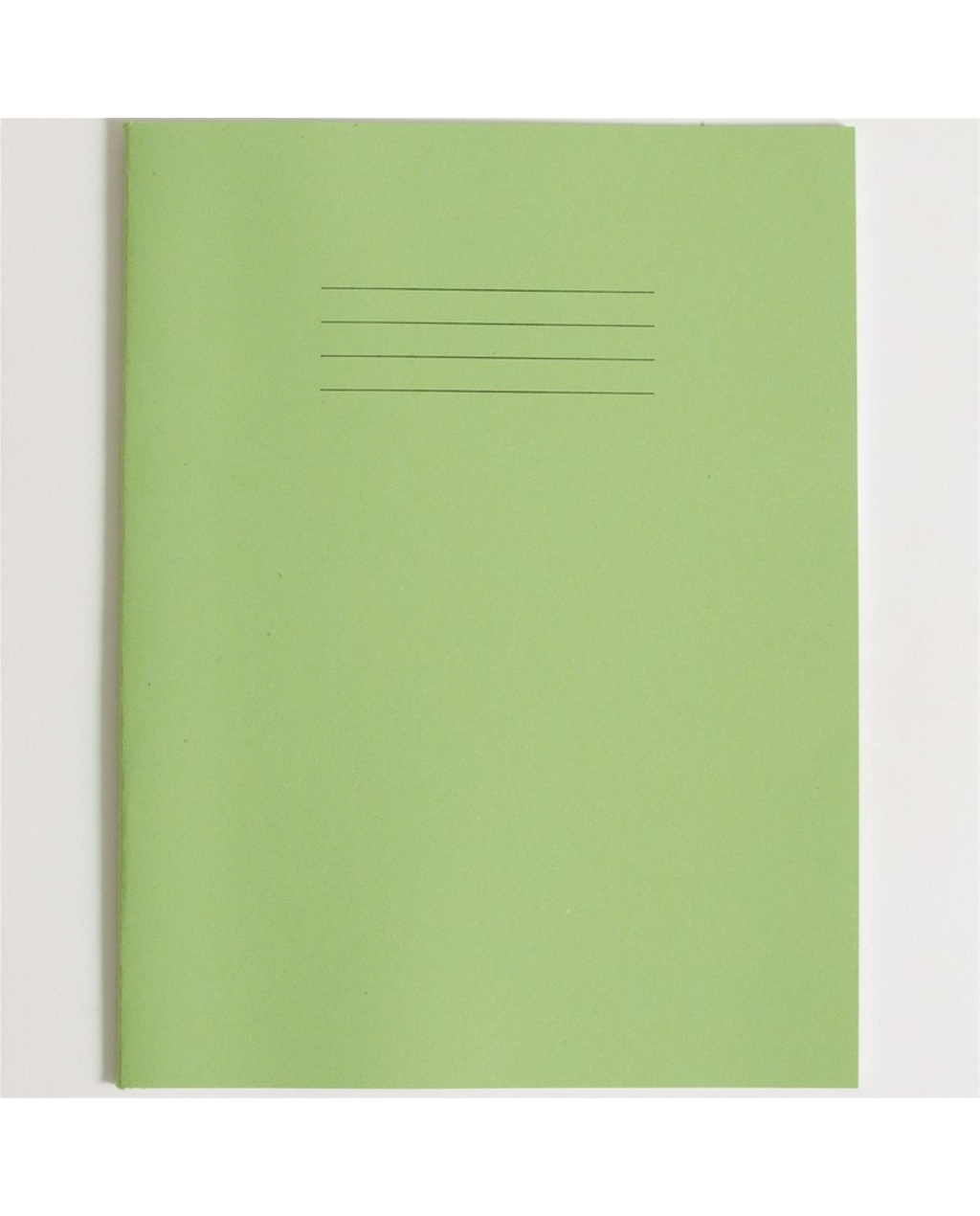Exercise Book A4+ size (330 x 250mm) Light Green Cover 12mm Ruled 40 Pages