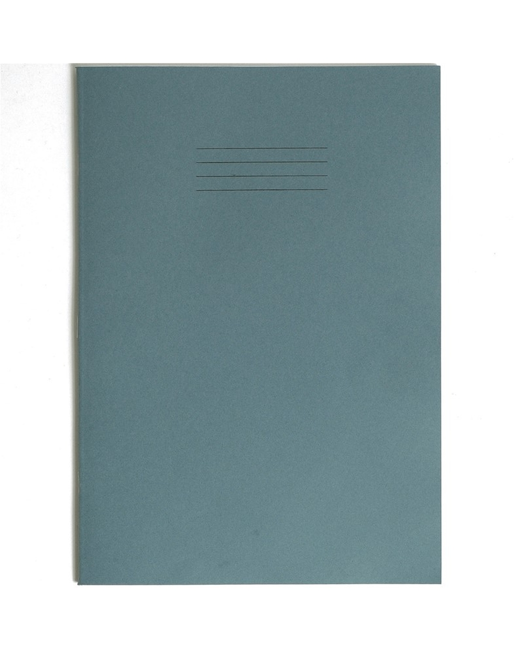 Exercise Book A4+ size (330 x 250mm) Light Blue Cover 12mm Ruled 40 Pages