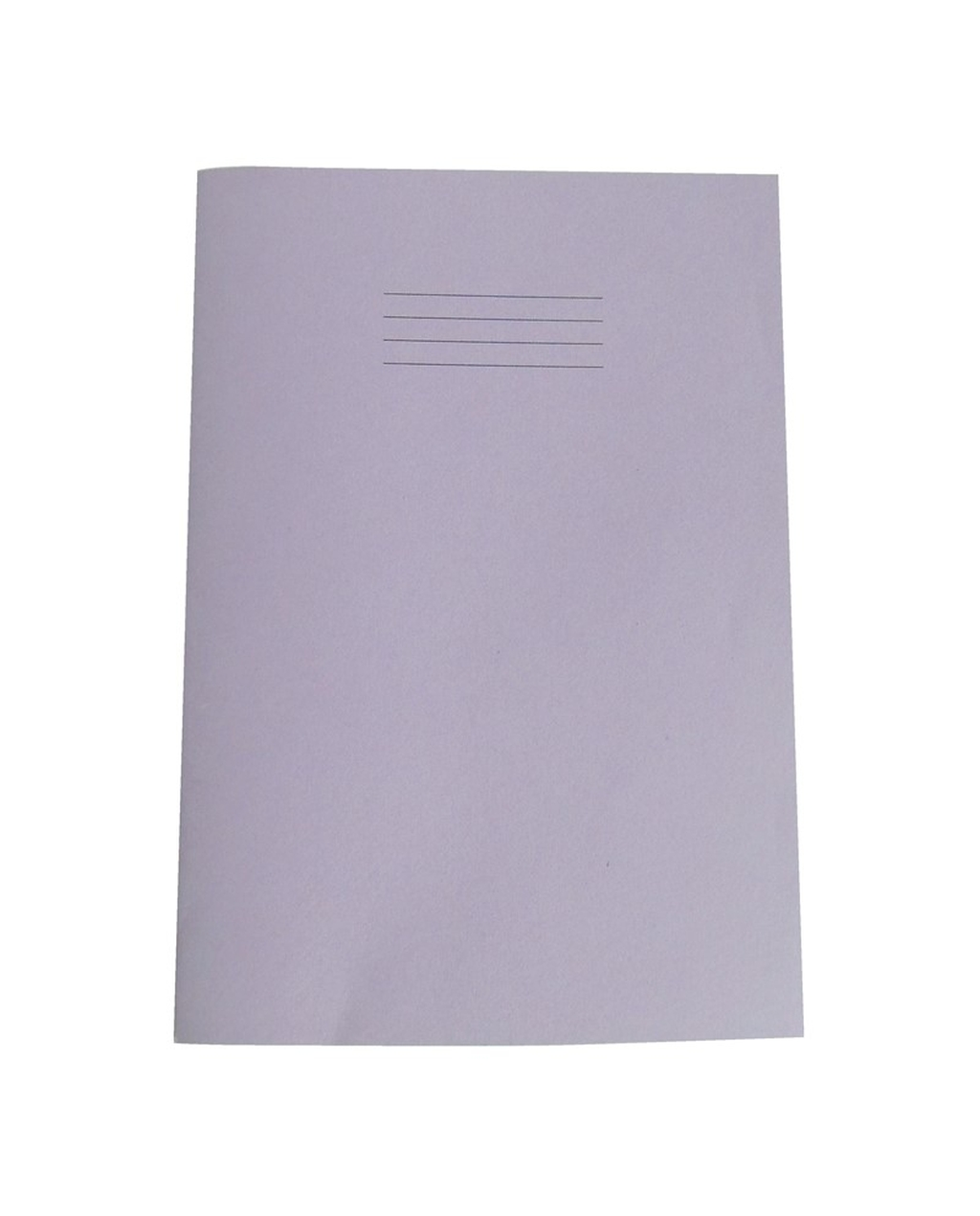 Exercise Book A4+ size (330 x 250mm) Purple Cover 12mm Ruled 40 Pages