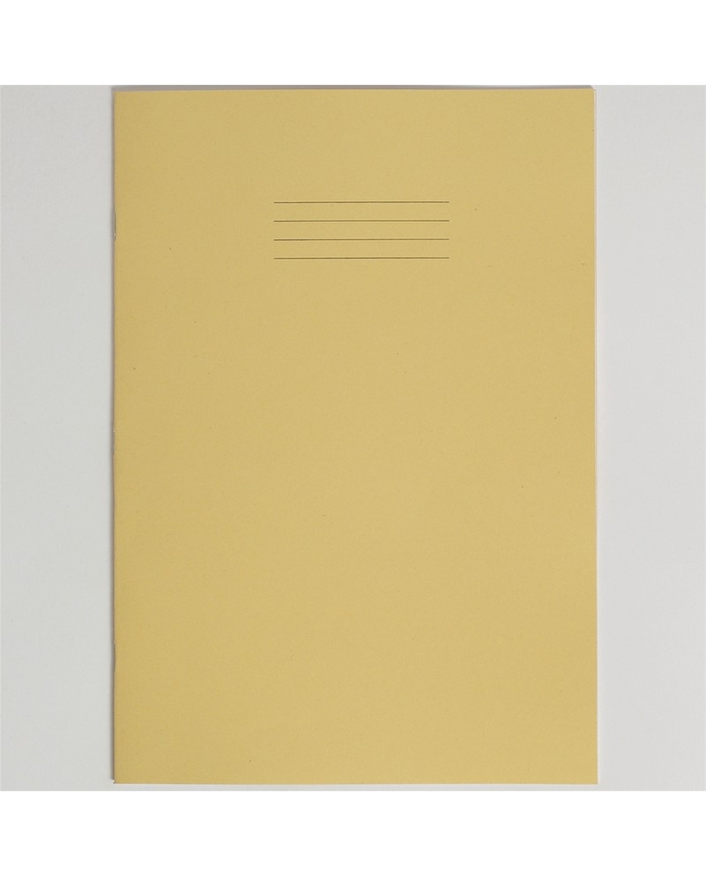 Exercise Book A4+ size (330 x 250mm) Yellow Cover 7mm Squares 40 Pages