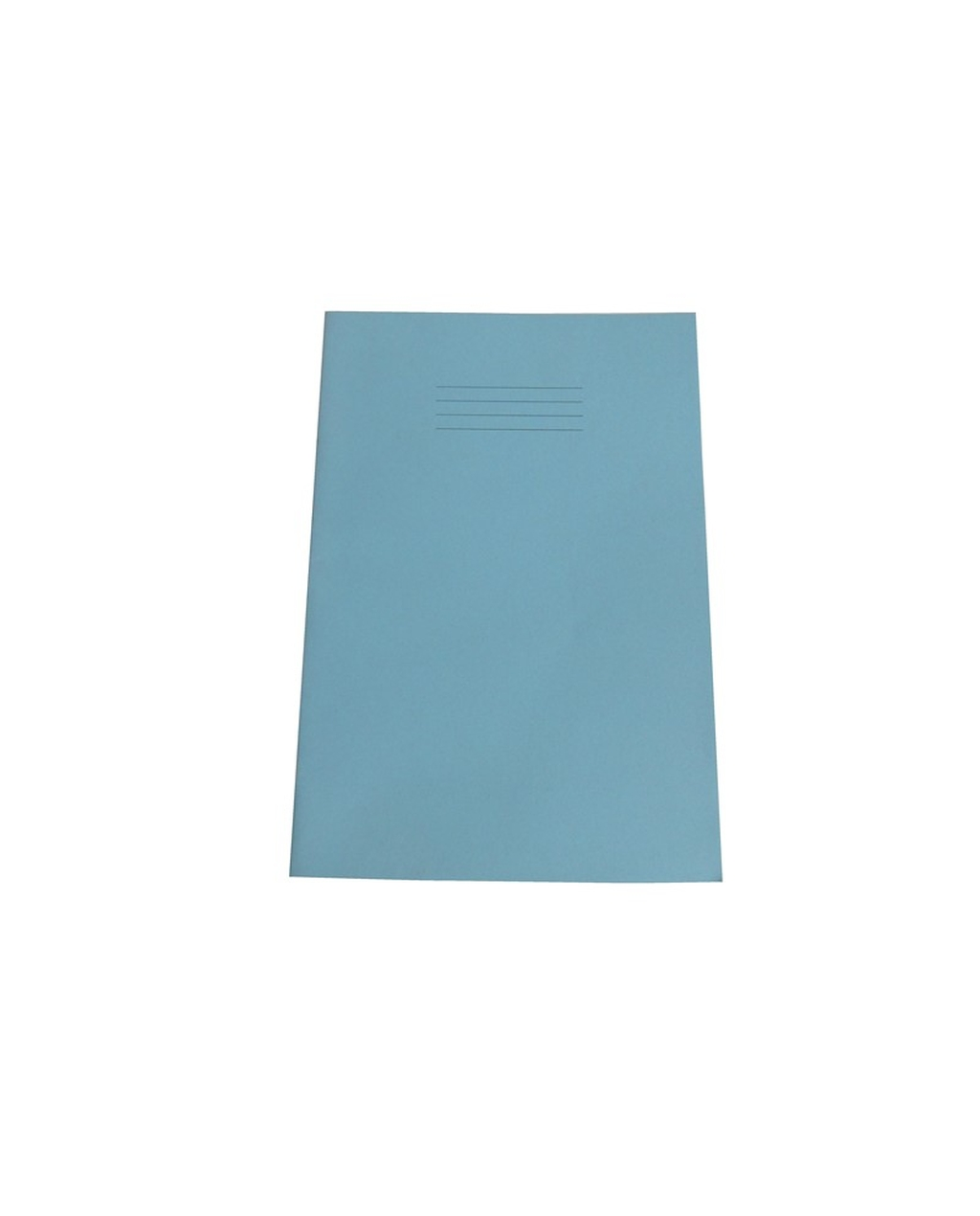 Exercise Book A4+ size (330 x 250mm) Light Blue Cover 7mm Squares 40 Pages