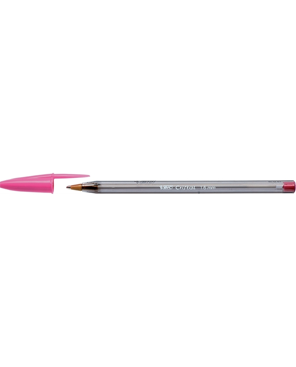 BIC Cristal Fun Ballpoint Pen -  Pink