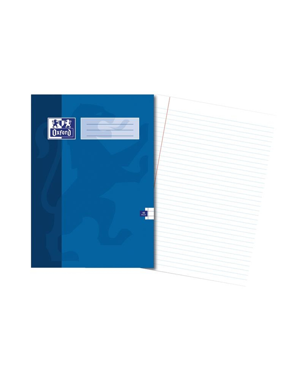 A4 Oxford Exercise Book - 48Pg 8mm Mar Blue