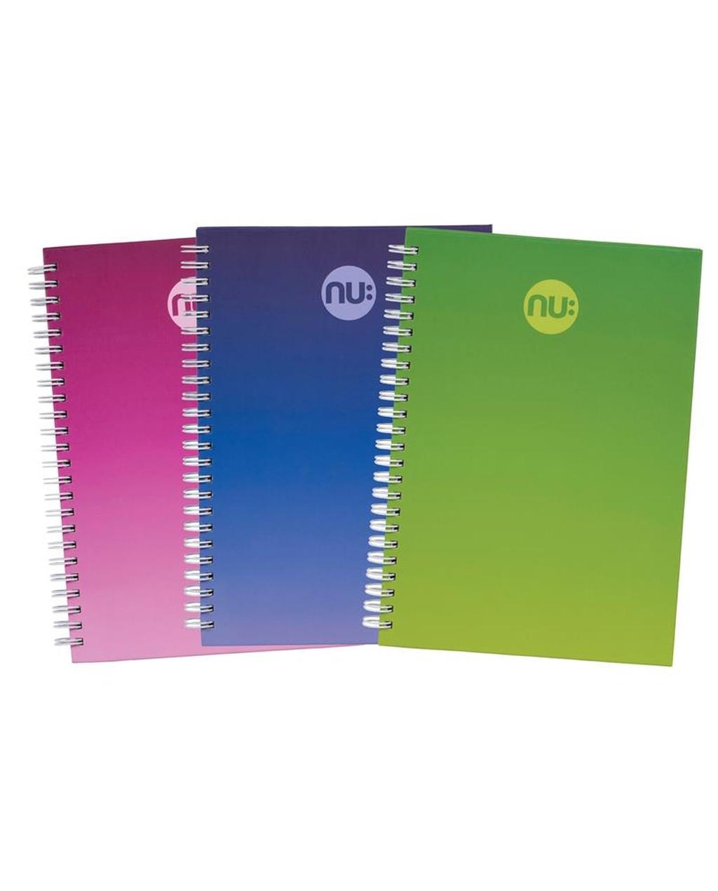 A4 NU: Era Three Tone Notebooks