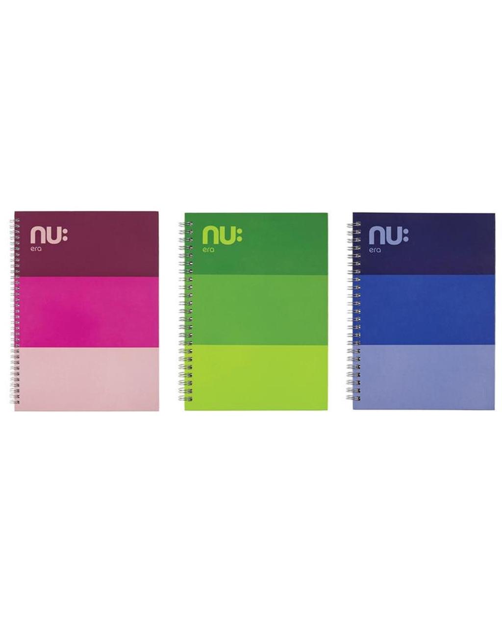A5 NU: Era Three Tone Notebooks