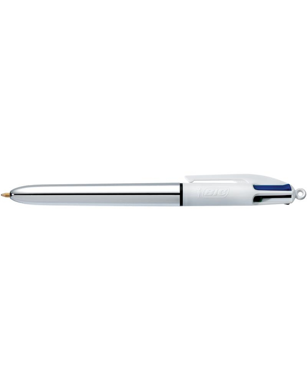 BIC 4 Colour Silver Shine Ballpoint Pen
