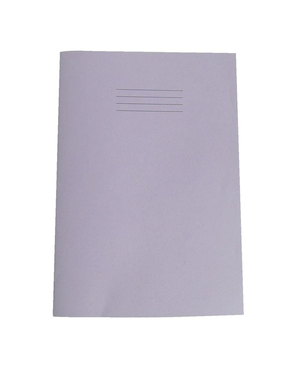 Exercise Book A4+ (330 x 250mm) Purple Cover 12mm Ruled 80 Pages