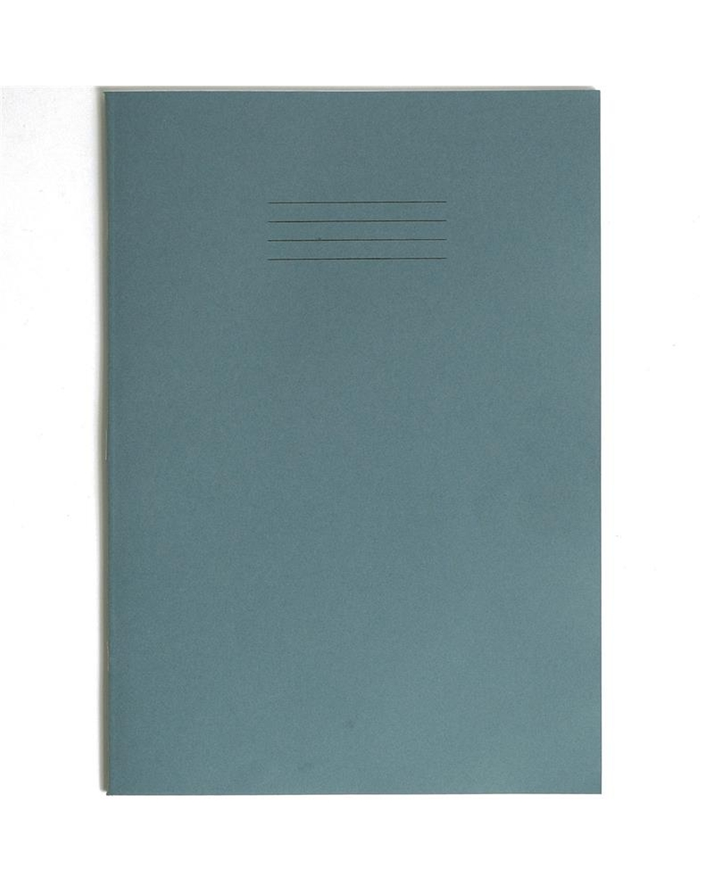 Exercise Book A4+ (330 x 250mm) Light Blue Cover 12mm Ruled 80 Pages