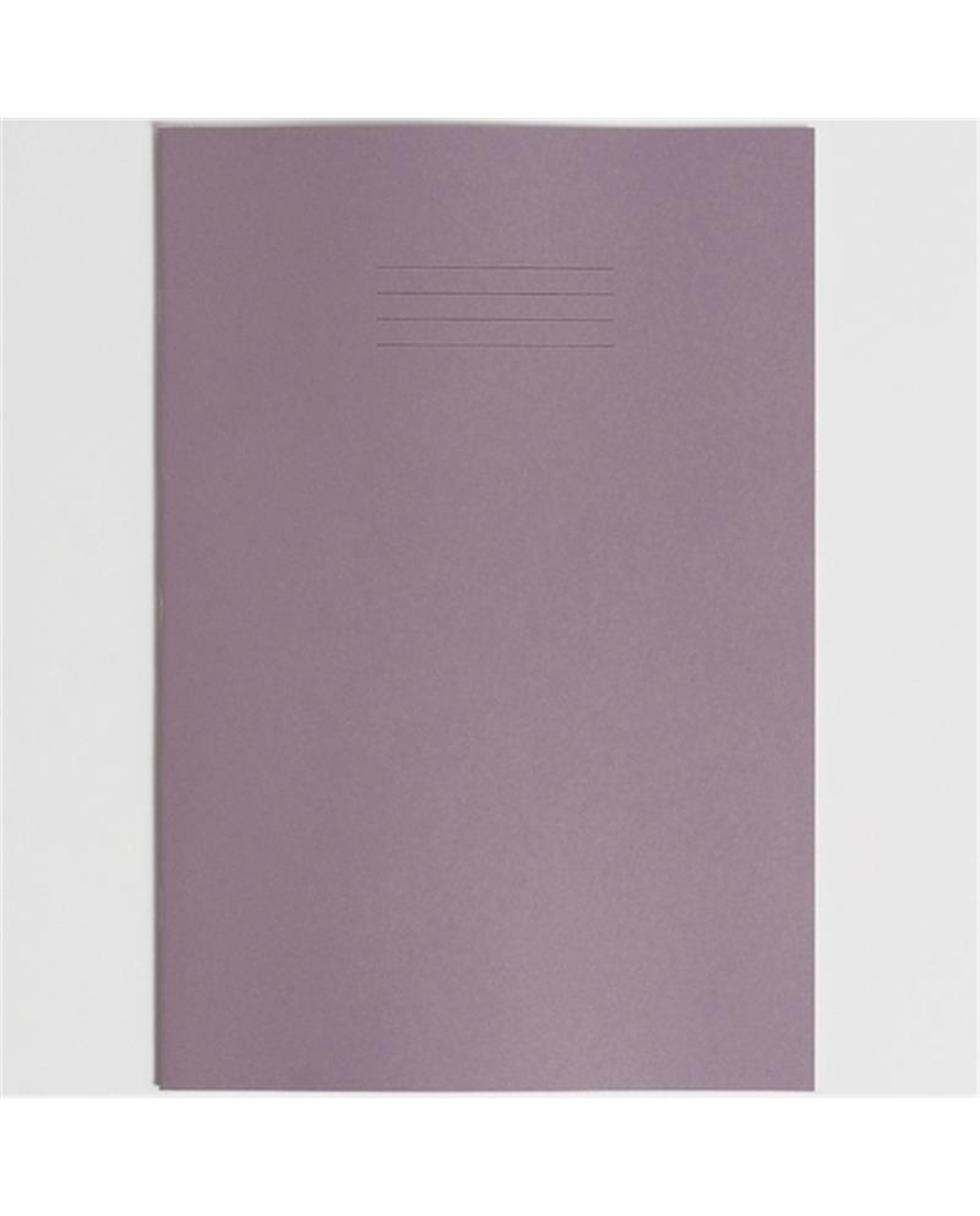 Exercise Book A4+ (330 x 250mm) Purple Cover Plain - No Ruling 80 Pages