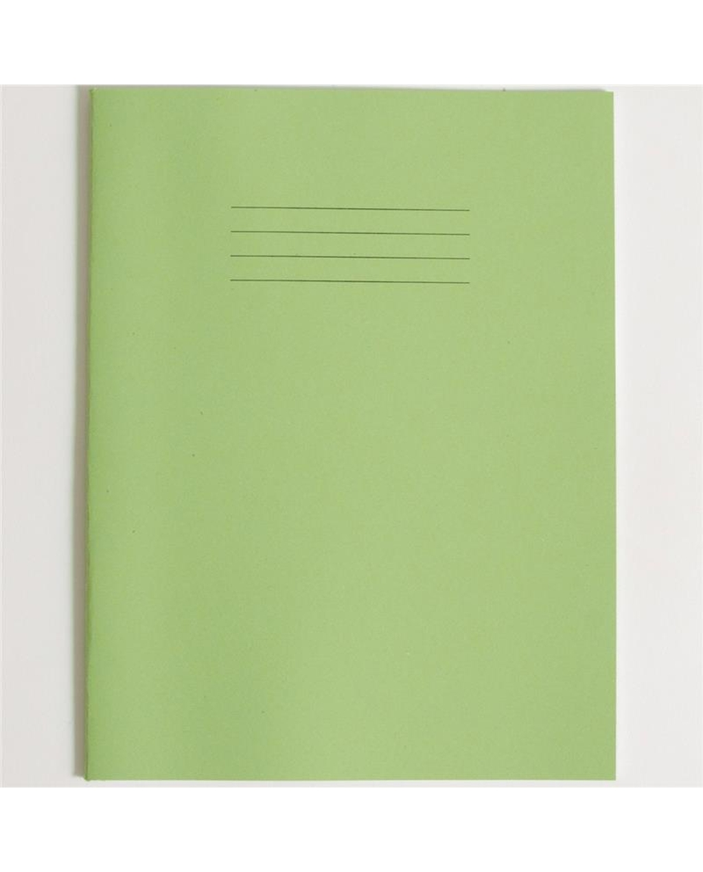 Exercise Book A4+ (330 x 250mm) Light Green Cover12mm Ruled 80 Pages
