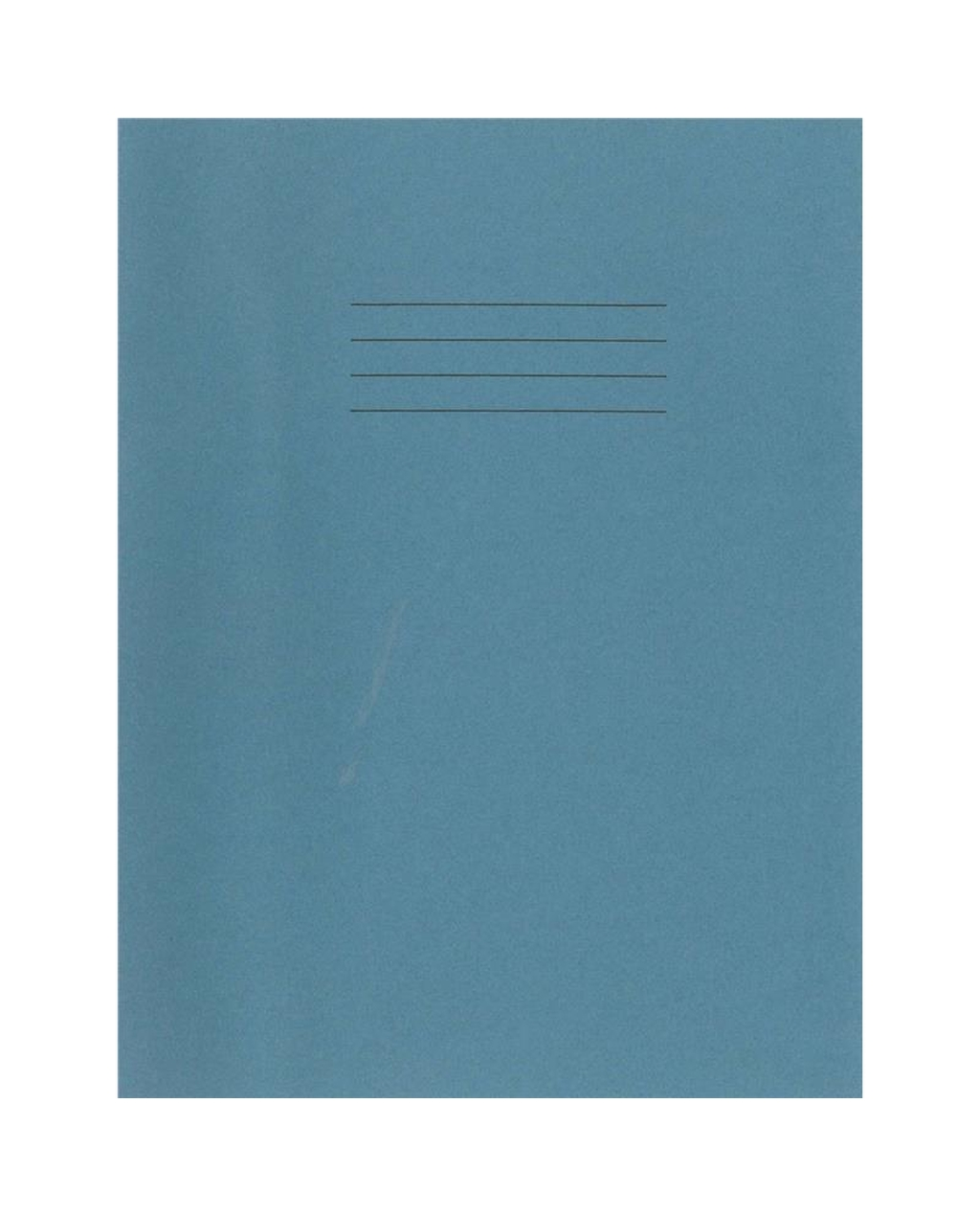 Exercise Book A4+ (330 x 250mm) Light Blue Cover Plain - No Ruling 80 Pages