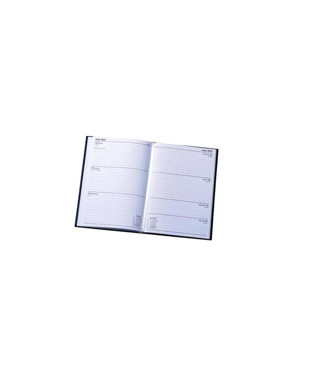A4 Calendar Year Diary - Week to View 2020