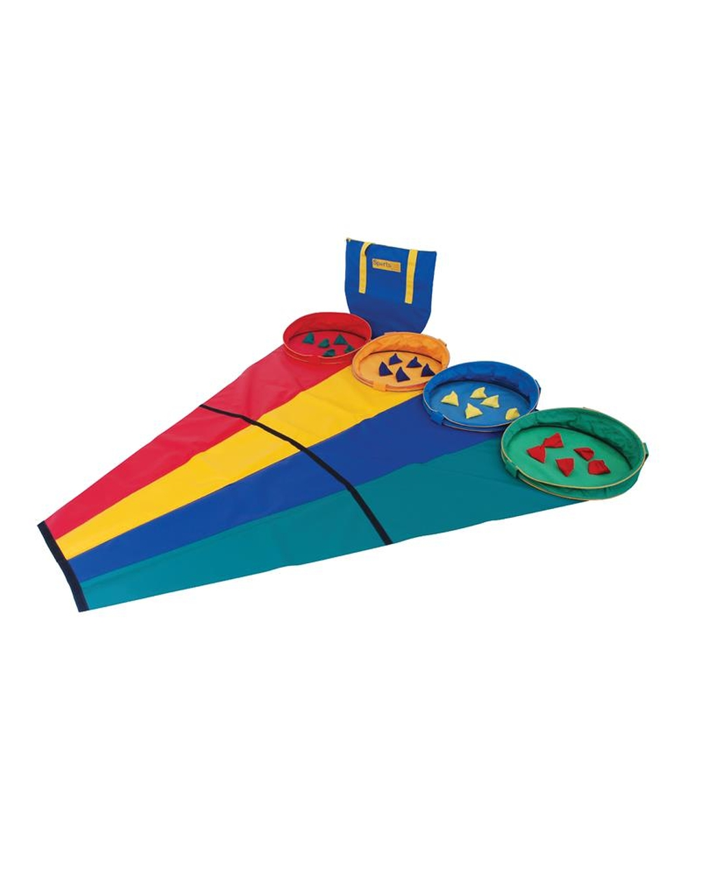 Rainbow Target Throw