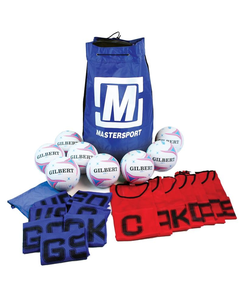 Basic Netball Pack Size 4 With Posts