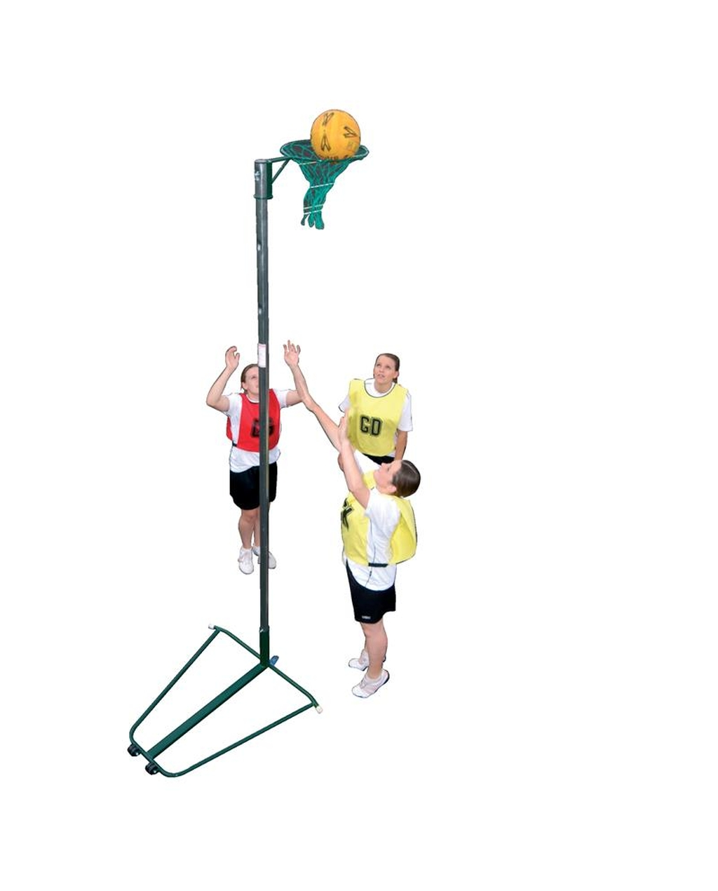 Freestanding Wheelaway Netball Post