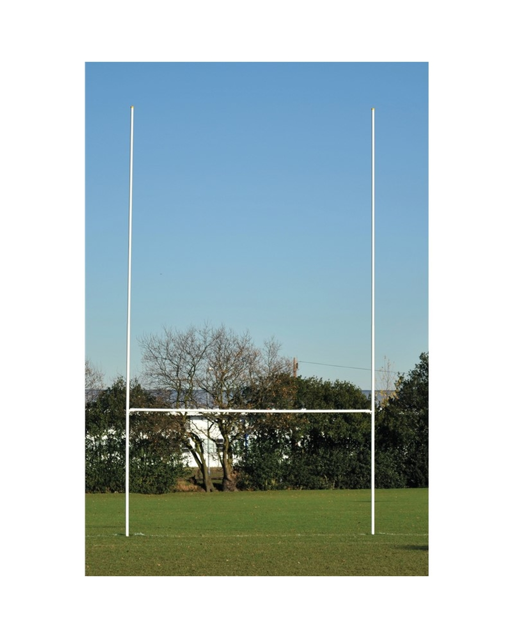 Rugby Goal Posts Tubular Steel - Senior