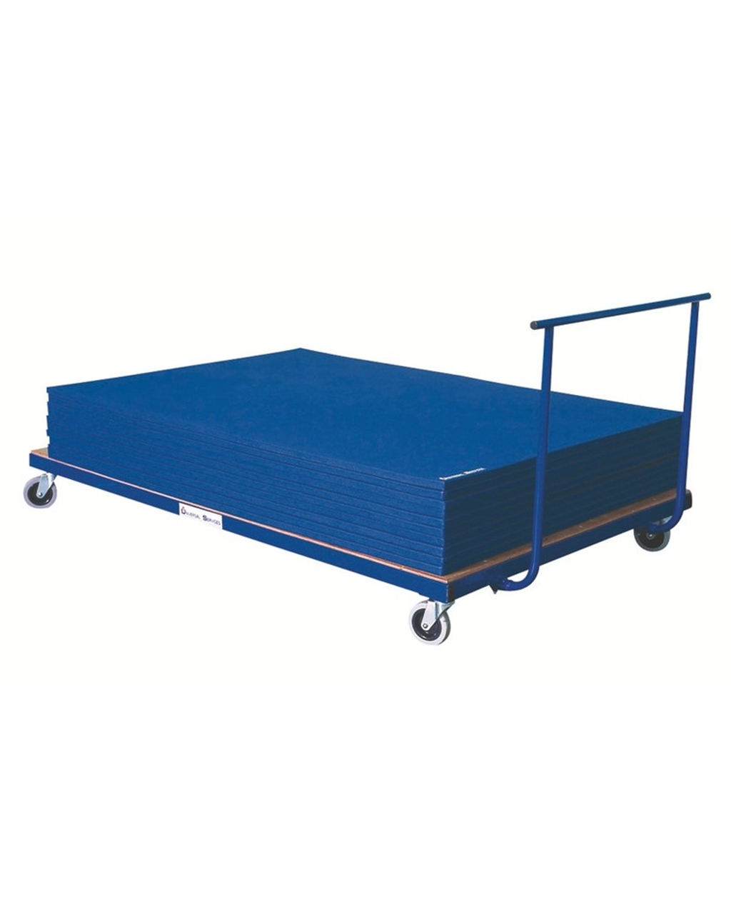Horizontal Mat Trolley