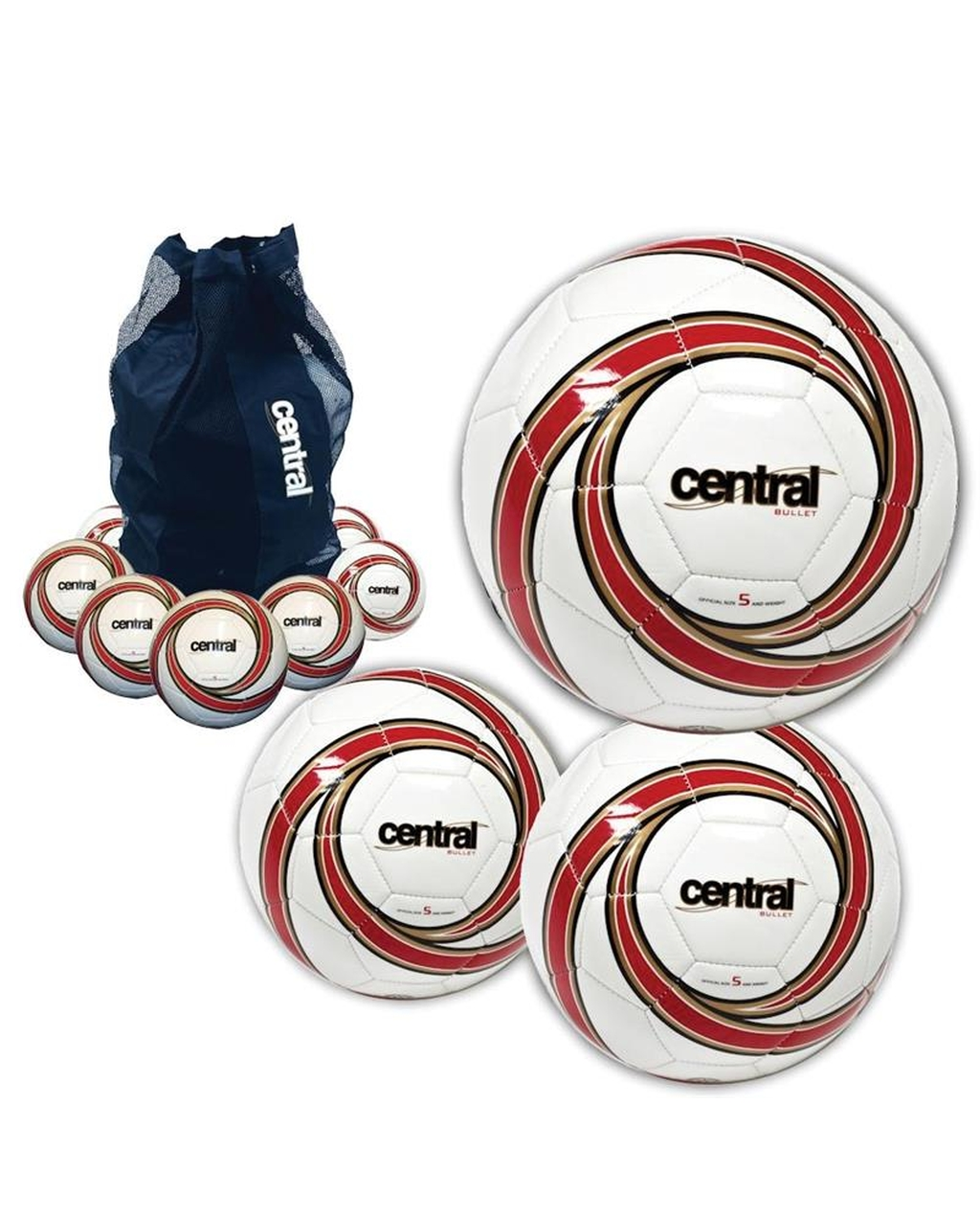 Central Bullet Football deal - size 4