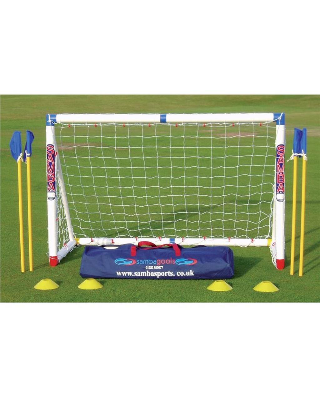 Samba 6ft x 4ft Lock - Colour Coded Goal Set