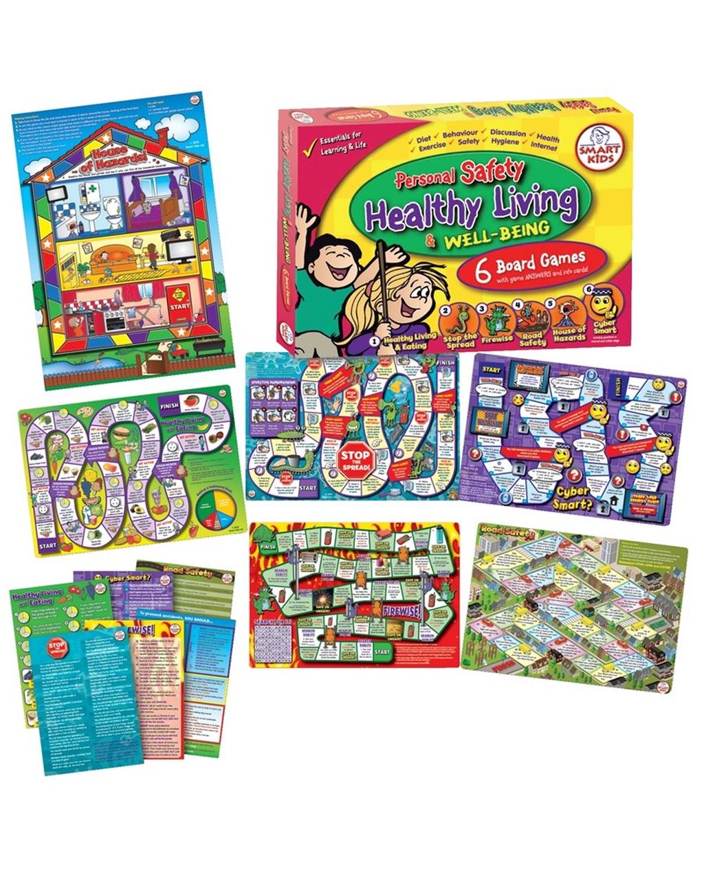 6 PSHE Board Games