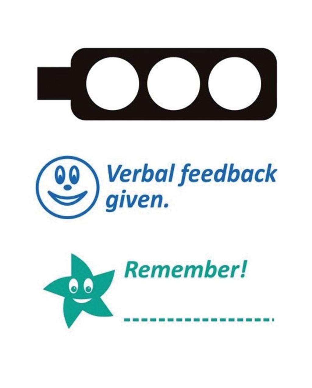 Feedback Stamp Stack
