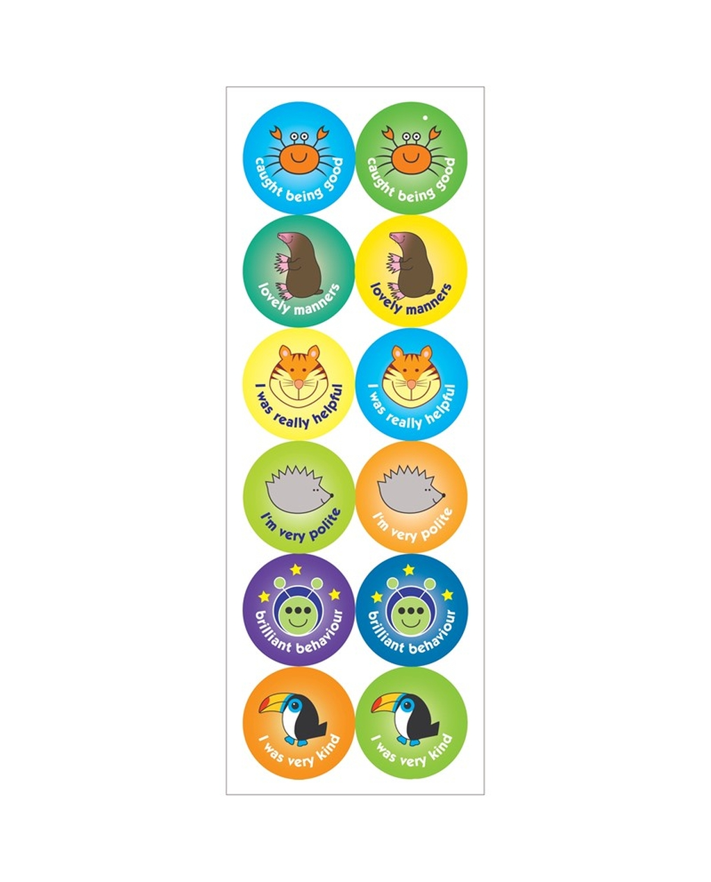Behaviour Stickers